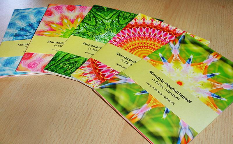 Mandala-Postkartenset