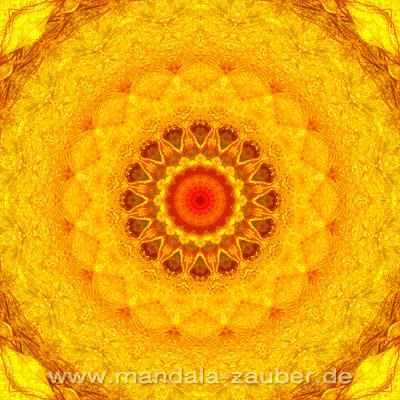 """Mandala """"Sonnenkraft"""""""