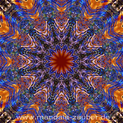 """Mandala """"Traumwelten"""""""