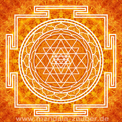 """Mandala """"Sri Yantra"""""""