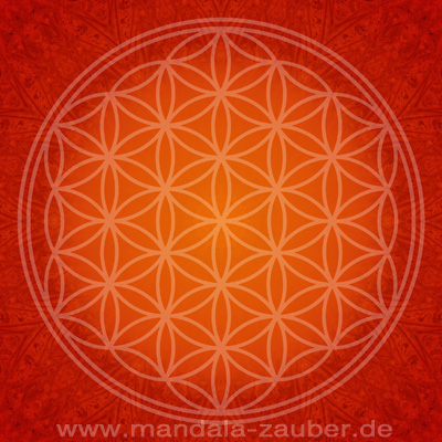 "Mandala ""Blume des Lebens"""