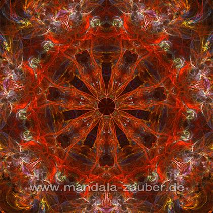 """Mandala """"Feuervogel"""""""