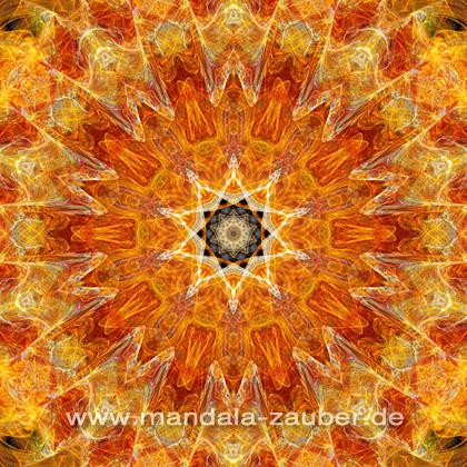 "Mandala ""Inneres feuer"""