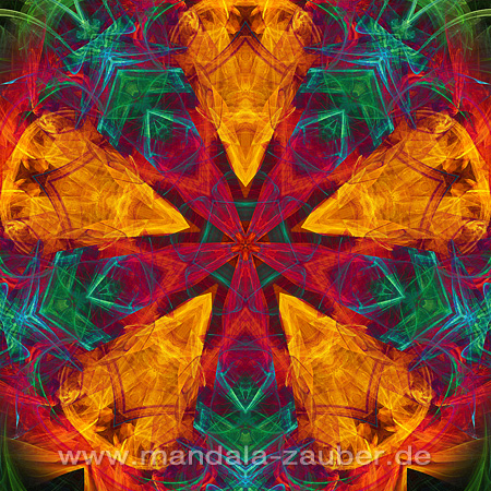 "Mandala ""Kraft der Elemente"""