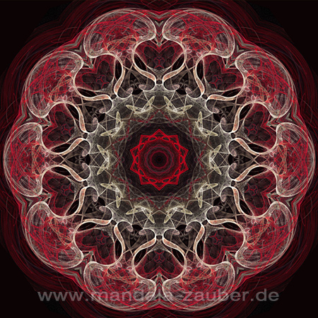"Mandala ""Feuertanz"""