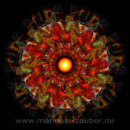 """Mandala """"Naturmedizin"""""""