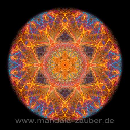 """Mandala """"Lebendigkeit"""""""