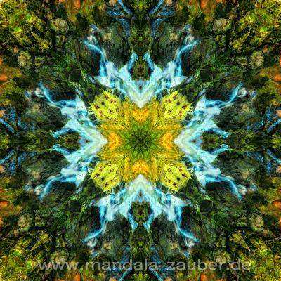 "Mandala ""Alles fließt"""