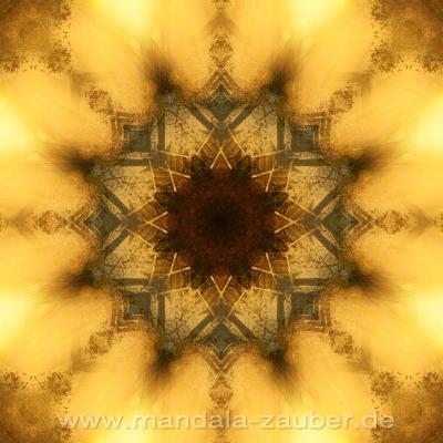 "Mandala ""Tunnel ins Licht"""