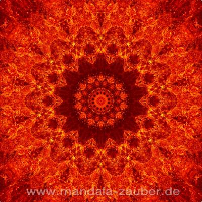 """Mandala """"Kaminfeuer"""""""