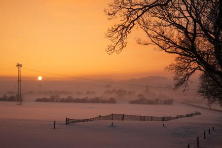 zauberhafter Winterabend